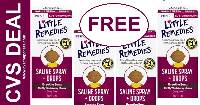 CVS Freebie Deal on Little Remedies 12-8-12-14