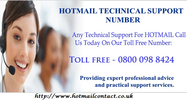 Hotmail technical support phone number