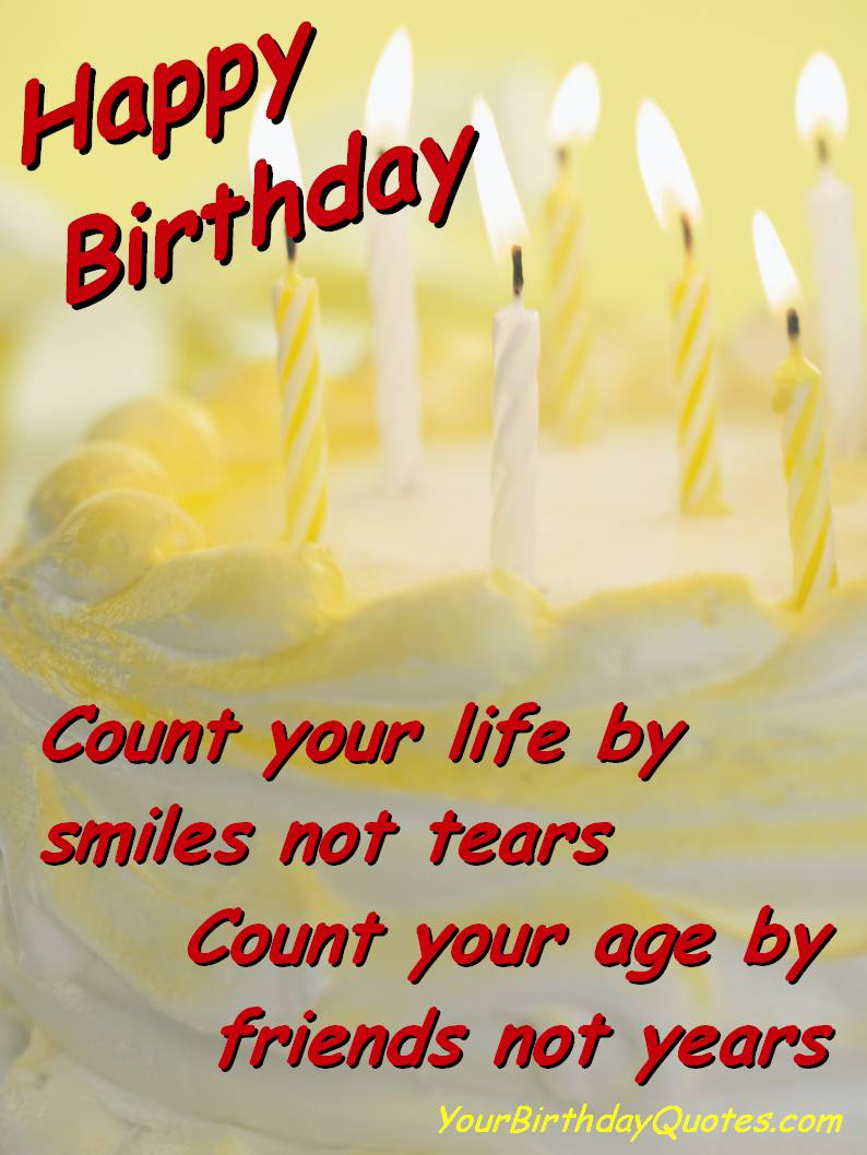 Happy birthday wishes and quotes - Birthday Wishes Quotes With Image For My Old