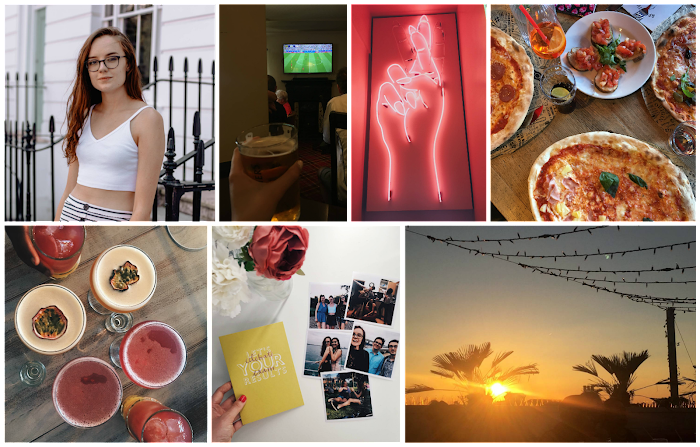 A lifestyle roundup of my week at university featuring all I've bought, watched, eaten, seen and been up to. Featuring a day in London, a blogger photoshoot and cocktails as the sun set