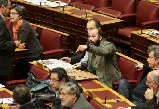 Διαμαντόπουλος για Τατσόπουλο: Μαλ...ας ή προβοκάτορας...