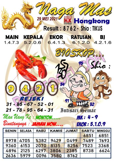 Syair Hk Nagamas Sabtu 29 Mei 2021