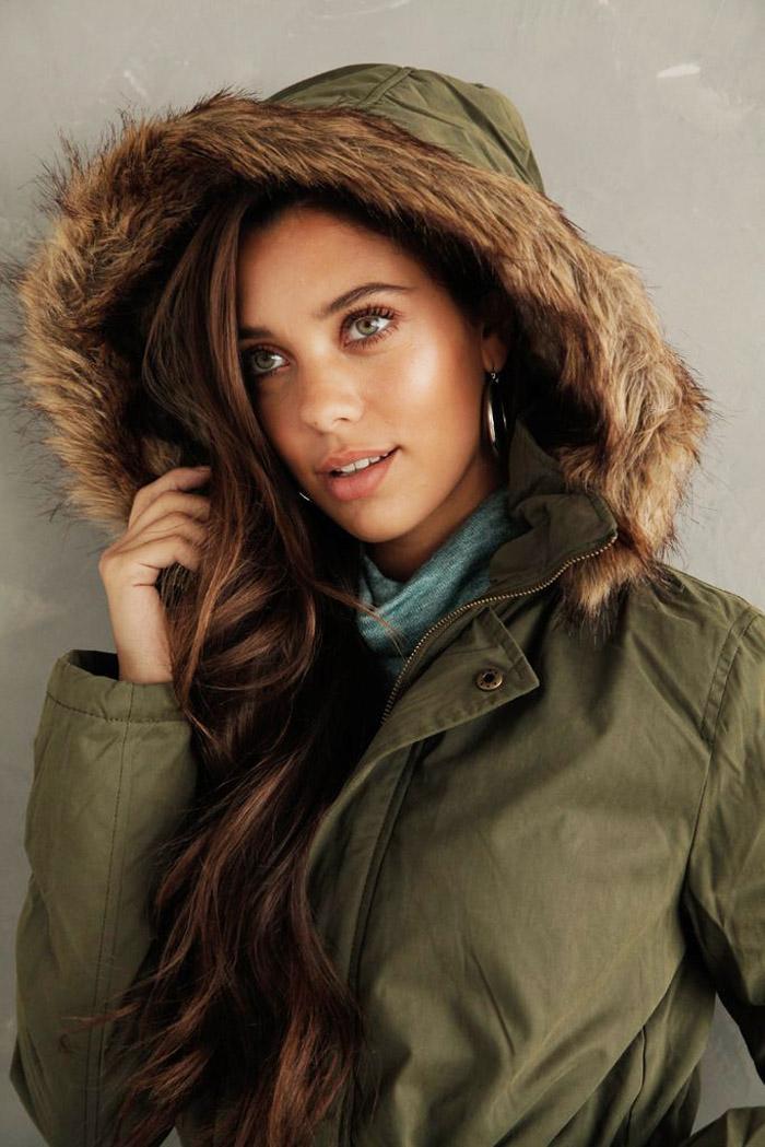 Parkas con capucha y piel invierno 2020 moda mujer. Ropa de mujer invierno 2020.