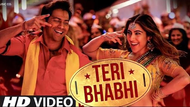 Teri Bhabhi Lyrics - Coolie No 1