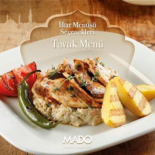 mado iftar menu fiyat price