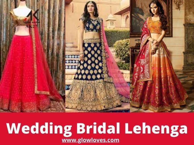 Best Designer Wedding Lehenga Dress For Indian Bride
