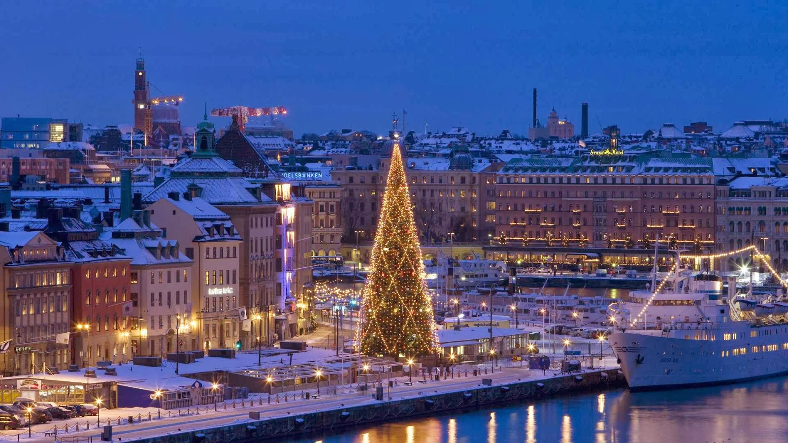 5 Best Tourist Places In Sweden Beautiful Traveling European Cities To Visit The Winter