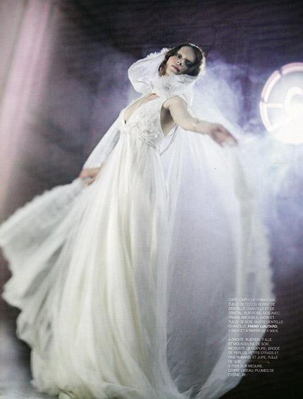 cape pour mariée @ FANNY LIAUTARD