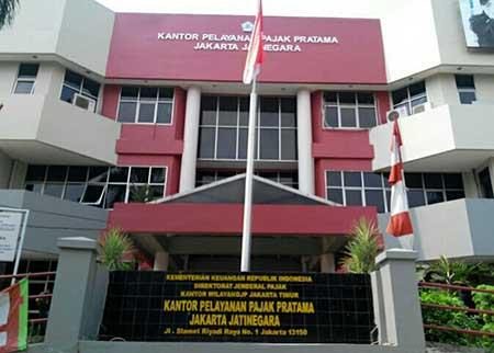 Alamat & Nomor Telepon Kantor Pajak Jakarta Timur