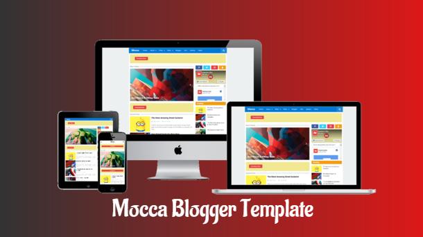 free premium blogger template Mocca Premium Free Responsive Blogger Template