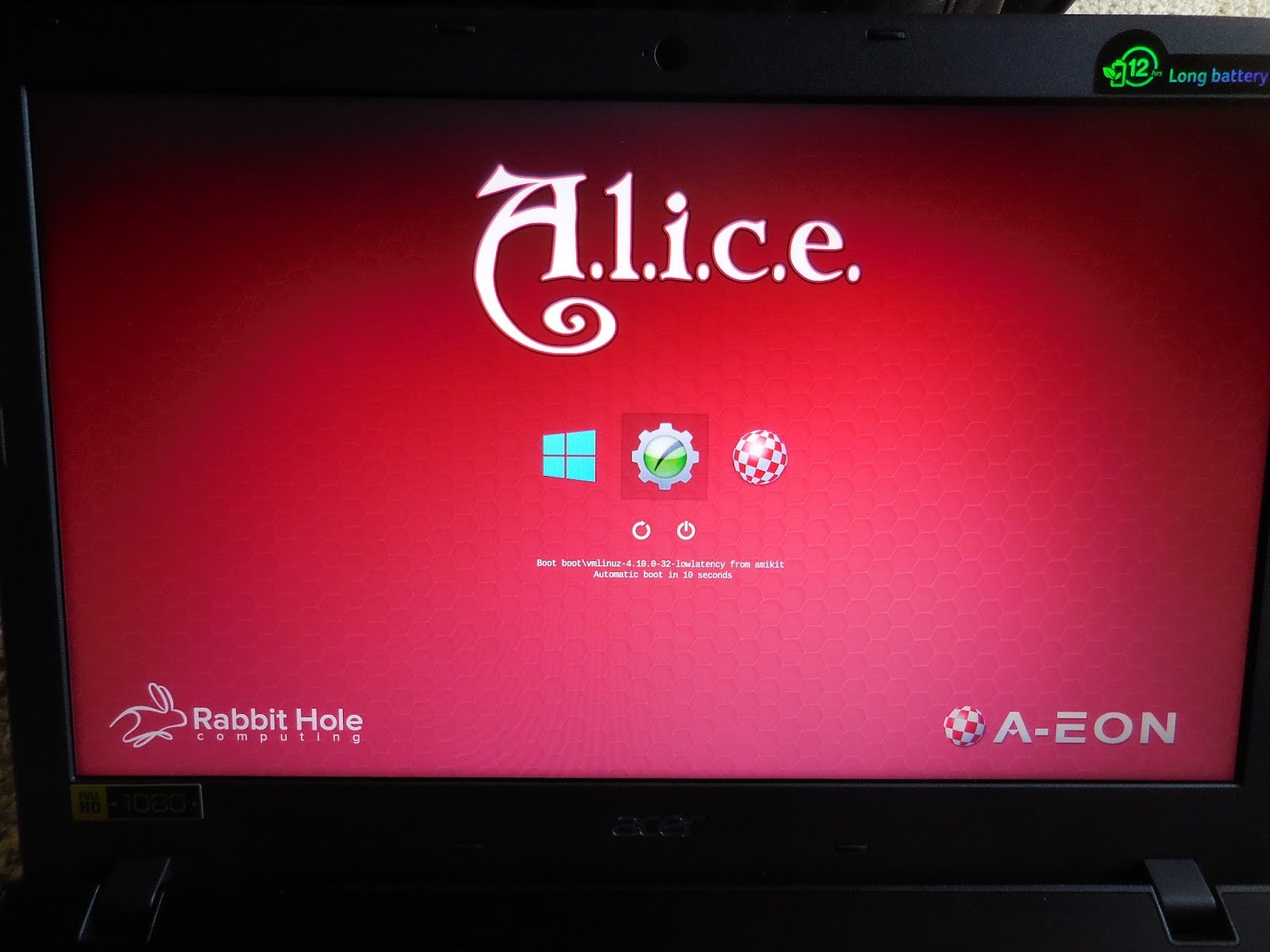 retro-link: Unboxing A L I C E  (A Laptop Incorporating a Classic