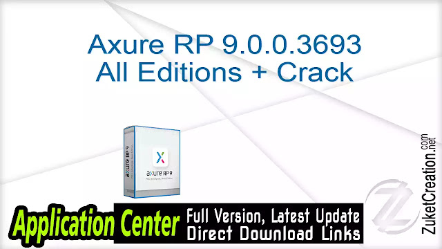 Axure RP 9.0.0.3693 All Editions + Crack