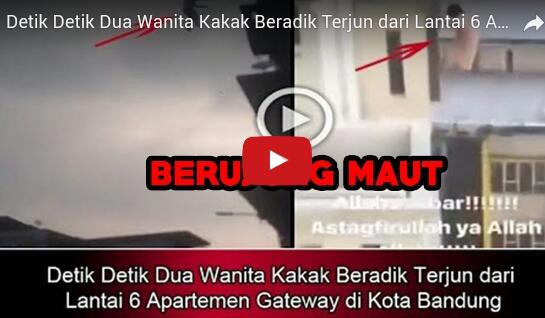 Kakak Berdadik Loncat dari Lantai 5 Apartemen Gateway, Bandung, Meninggal Dunia