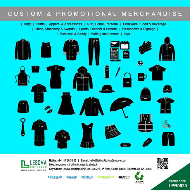 Corporate Offers for Promotional Items.