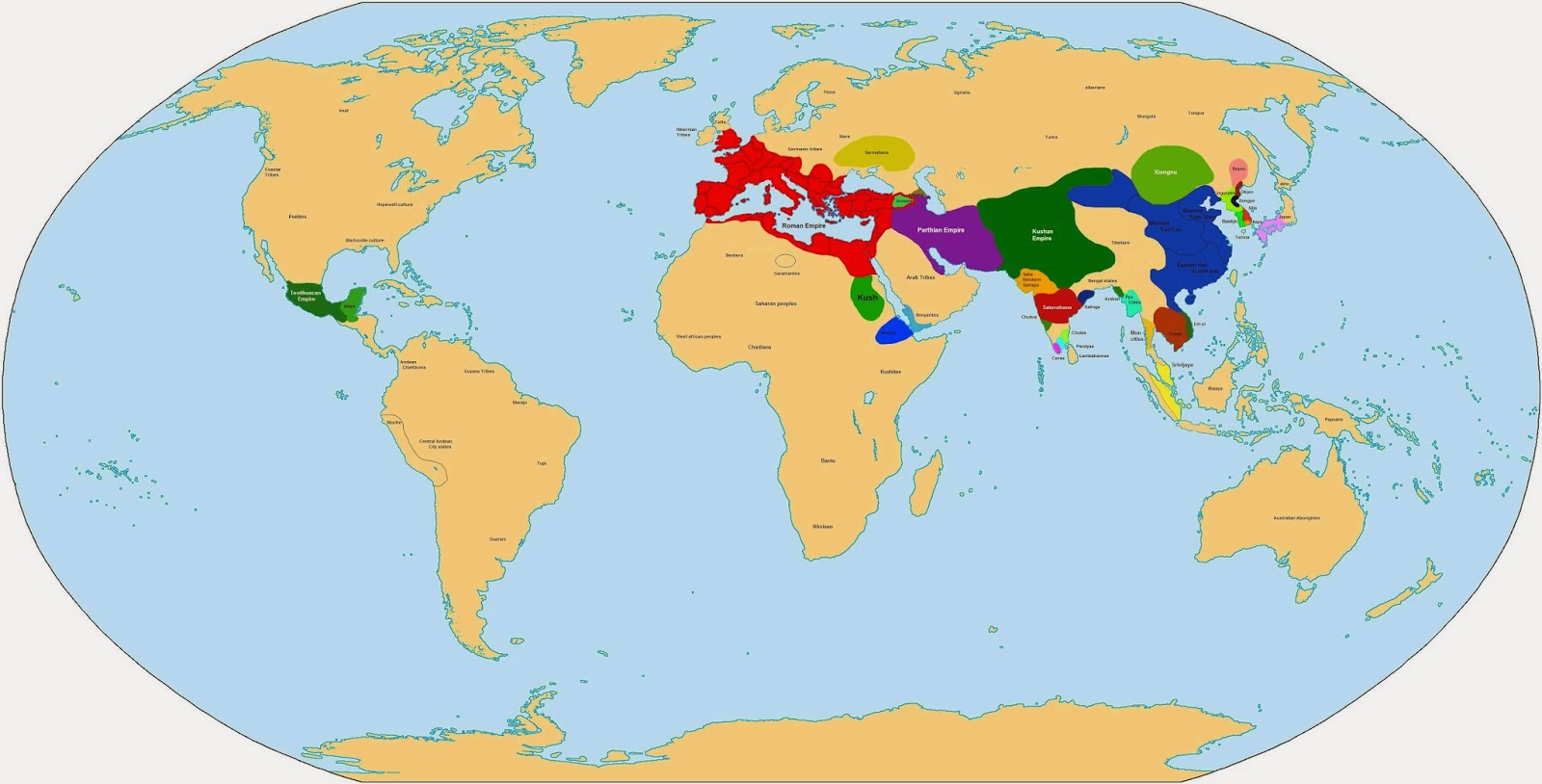 Pangea Progress Maps That Explain The World