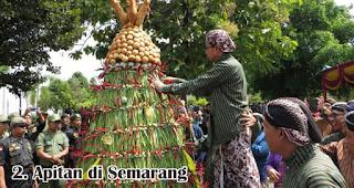 Apitan di Semarang merupakan salah satu tradisi unik di Indonesia saat merayakan Idul Adha