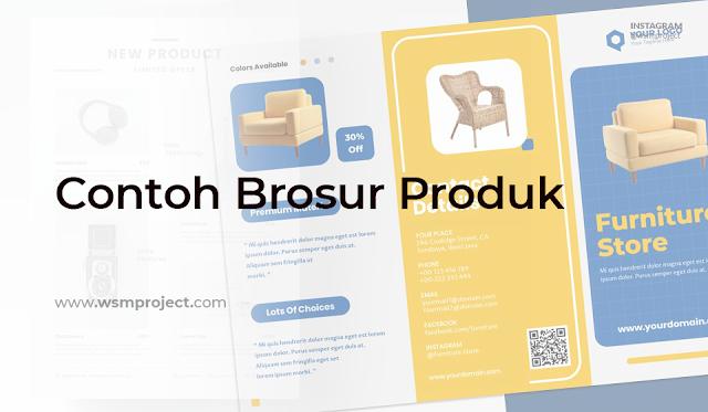 Contoh Brosur Produk