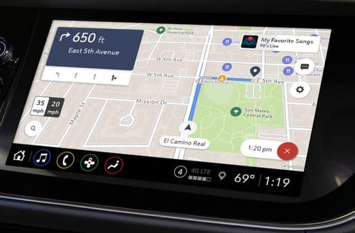 Maps Plus: GM's in-car navigation system