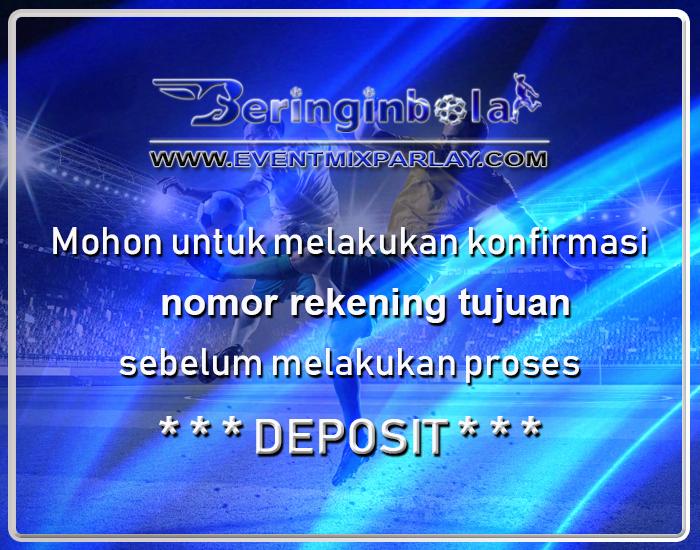 Konfirmasi Rekening Deposit