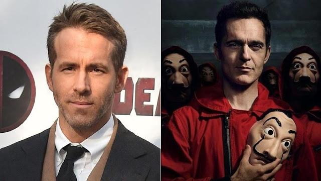 Comic Con Experience 2019 La Casa de Papale Ryan Reynolds