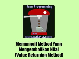 memanggil return method