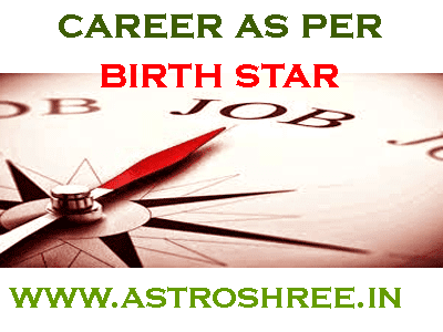 best career as per nakshtra in birth chart by astrologer