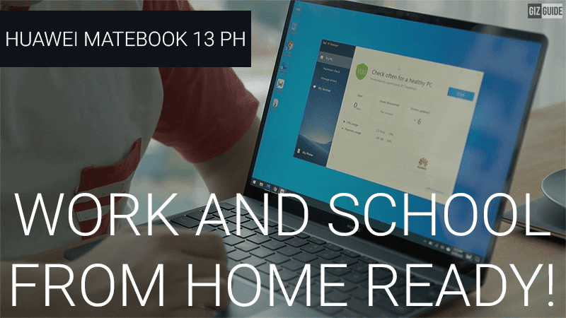 Watch: Best features that make the Huawei MateBook 13 great for school and work from home