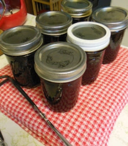 Blackberry Cranberry and Pink Grapefruit Preserves make a perfect gift for friends!