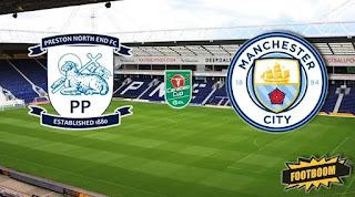 Престон Норт Энд – Манчестер Сити смотреть онлайн бесплатно 24 сентября 2019 прямая трансляция в 21:45 МСК.