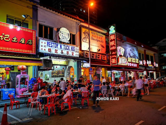 Ipoh Tuck Kee Fried Noodles for Wat Tan Hor 德记炒粉店