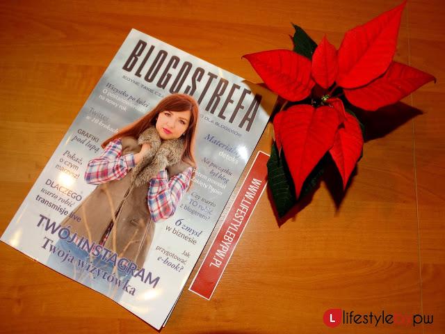"""Magazyn """"Blogostrefa"""" w zimowej odsłonie. W środku mój wywiad z Martą Barczok"""