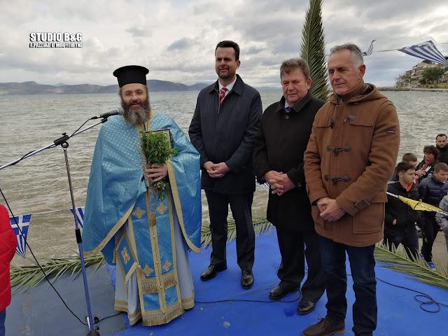 Με τσουχτερό κρύο τελέσθηκαν τα Θεοφάνια και στο Κιβέρι Αργολίδας