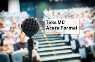 Contoh Teks Pembawa Acara (MC) Acara Formal