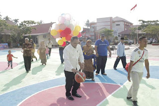 SMPN 2 Solok Gelar OSIS Cup One Basketball Spenda Mania