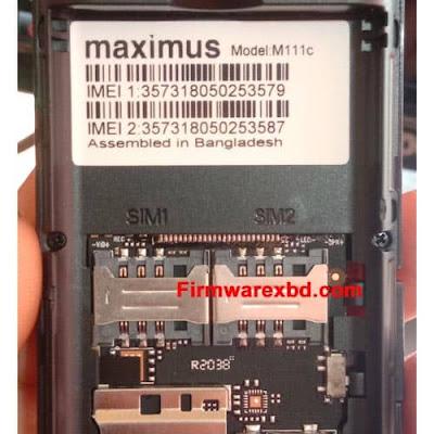 Maximus M111c Flash File