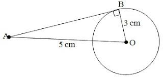 Cara Menentukan Panjang Garis Singgung Pada Lingkaran Dilengkapi Pembahasan Contoh Soal