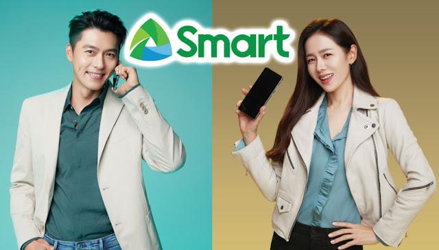 Hyun Bin Son Ye-Jin, Hyun Bin Smart Communications, Son Ye-Jin Smart Signature