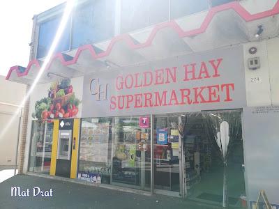 Percutian Perth Itinerari Minimarket halal food