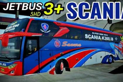 Mod Bus JB3+ SHD Scania K360 By Faridh Madyawan