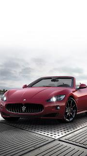 maserati red sportscar vehicle wheel fast automotive classic coupe chrome drive convertible