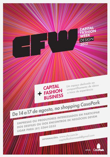 cc59eb9e2 Capital Fashion Week DESING 2012, de 14 a 17 de agosto... | Moda e ...