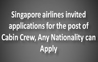 Cabin Crew in Singapore Airlines
