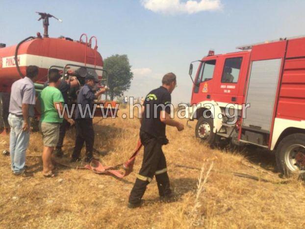 Στις φλόγες τα ελληνικά χωριά στην Βορ.Ηπειρο !  Νέα βοήθεια από την Ελλάδα στην Αλβανια ! !