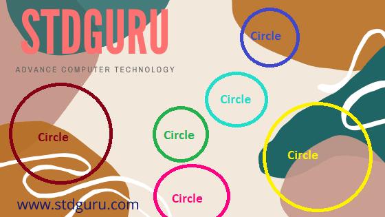 Program to draw circle using CC++,How to Draw Circle,Draw Circle in Graphics C  C++,Circle function in Graphics CC++ (Hindi)