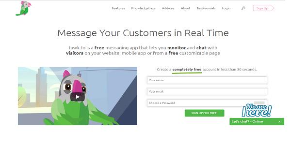 cara membuat live chat di blog dan website
