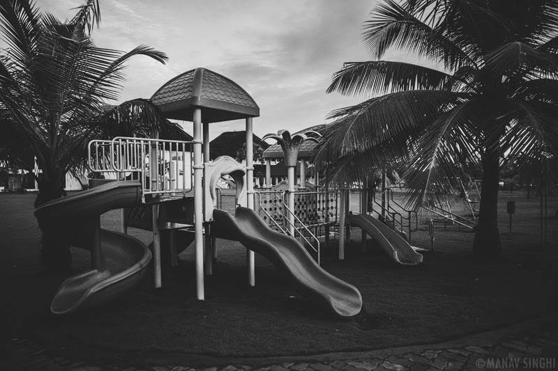 Kids Playing area at Le Pondy Beach Resort, Pondicherry- 31-Oct-2019