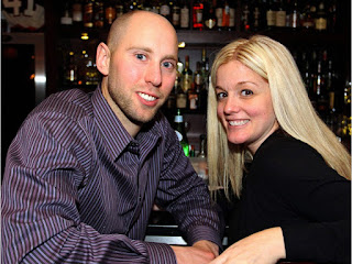 Sens Goalie Craig Anderson With His Wife Nicholle At Napol Jpeg