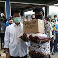 Pendistribusian 19.729 Bantuan Paket Sembako BP Batam Diawali di Kecamatan Lubuk Baja