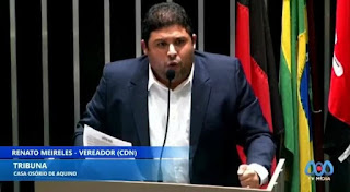 A Deputada Camila Toscano está abandonando os seus aliados de primeira hora afirma Renato Meireles.