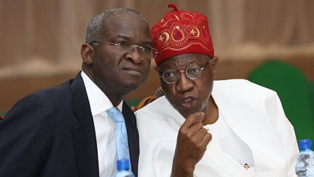 fashola and Lai mohammed